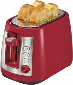 Hamilton Beach® 2-Slice Long Slot Red Toaster
