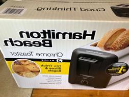 2 Slice Toaster Extra Wide Toast Bread Bagel Cool Wall Slots