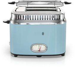 RUSSELL HOBBS 2-Slice Toaster Retro w/ Removable Crumb Tray