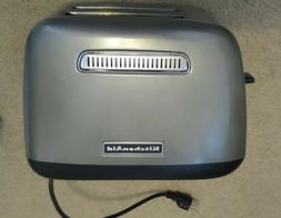 KitchenAid 2-Slice Toaster With Manual Lift Lever KMT2115SX