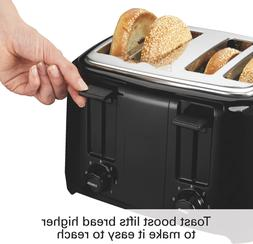 Proctor Silex 24215 Toaster with Wide Slots Toast Boost, 4-S