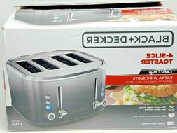 4-Slice Extra-Wide Slot Toaster Stainless Steel Ombré Finis