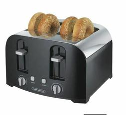 Proctor Silex 4-Slice Silver/Black Cool-Wall Toaster model 2