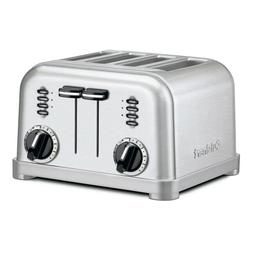 Cuisinart 4-Slice Stainless Steel Toaster, CPT-180 - FREE SH