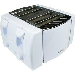 4 Slice Toaster Brentwood Appliances Cool Touch White Auto C