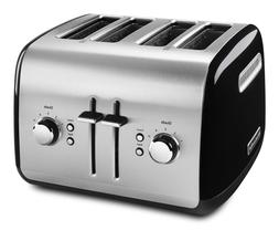 KitchenAid 4-Slice Toaster with Manual High-Lift Lever, Onyx