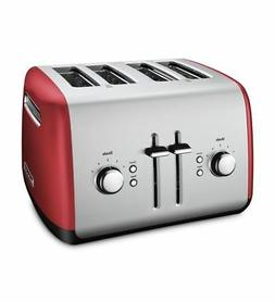 KitchenAid 4-Slice Toaster with Manual High-Lift Lever, KMT4