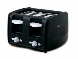 Sunbeam 4 Slice Toaster with Retractable Cord, Black