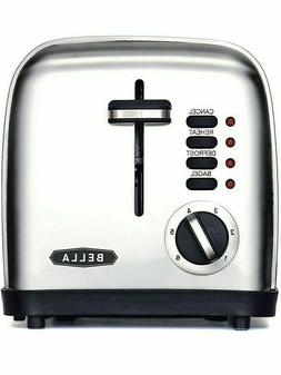 BELLA 2- Slice Toaster Toast Just How You Like It