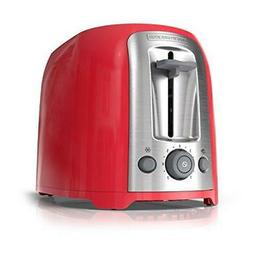 BLACK+DECKER 2-Slice Toaster, Red, TR1278RM