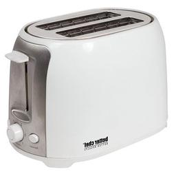 Better Chef - 2-slice Extra-wide-slot Toaster - White