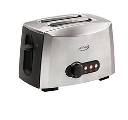 Betty Crocker BC-1618C 2-Slice Toaster, Brushed Stainless St