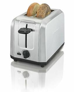 Hamilton Beach Brushed Stainless Steel 2-Slice Toaster Home