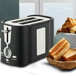 Compact Toaster Stainless Steel Extra Wide Slot Bread with M