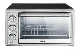 Convection 6-Slice Countertop Toaster Oven Stainless Steel B
