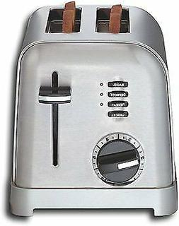 Cuisinart CPT-160 Metal Classic 2-Slice Toaster - Stainless-