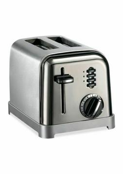 Cuisinart CPT-160P1 Metal Classic 2-Slice Toaster - Brushed