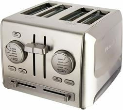 Cuisinart CPT-640FR 4-Slice Metal Toaster Stainless Steel Ce