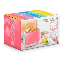 Sencor Electric Toaster in Pastel Pink STS38RS-NAA1