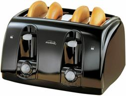Extra Wide Slot 4-Slice Toaster Anti-jam Automatically Shuto