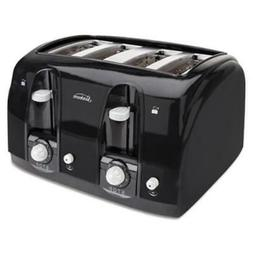 Extra Wide Slot 4 Slice Toaster Stainless Steel Kitchen Elec