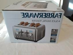Faberware Stainless Steel Dual Control Digital 4 slice toast