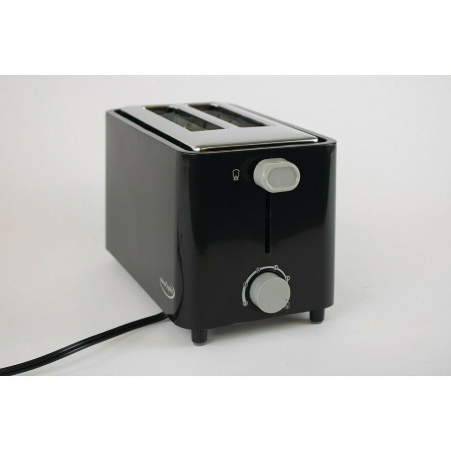 2 Toaster Steel Compact Electric