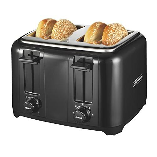 Proctor Silex 24215 Toaster with Wide Slots & Toast Boost, 4