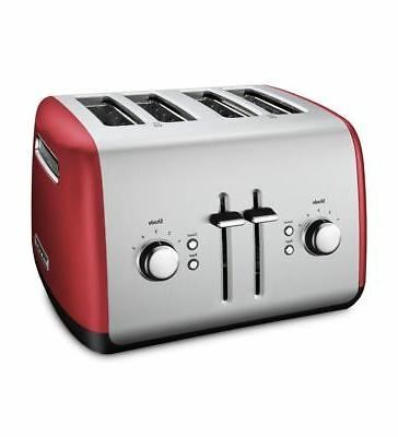 4 slice toaster with manual high lift