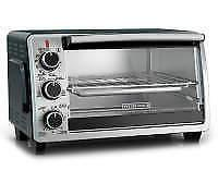 Black & Decker 6-Slice Convection Toaster Oven New 100%