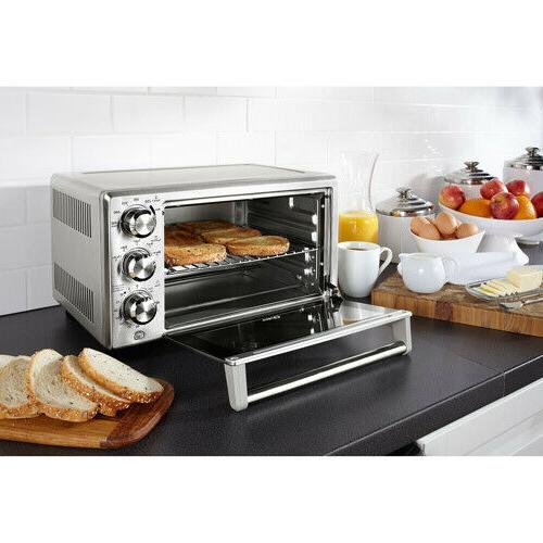 Oster TSSTTVDFL2 6-Slice Stainless Steel Toaster Oven 1400 W