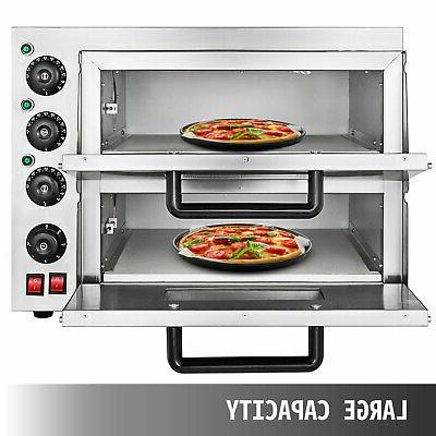 Electric 3000W Oven Double Deck Bake