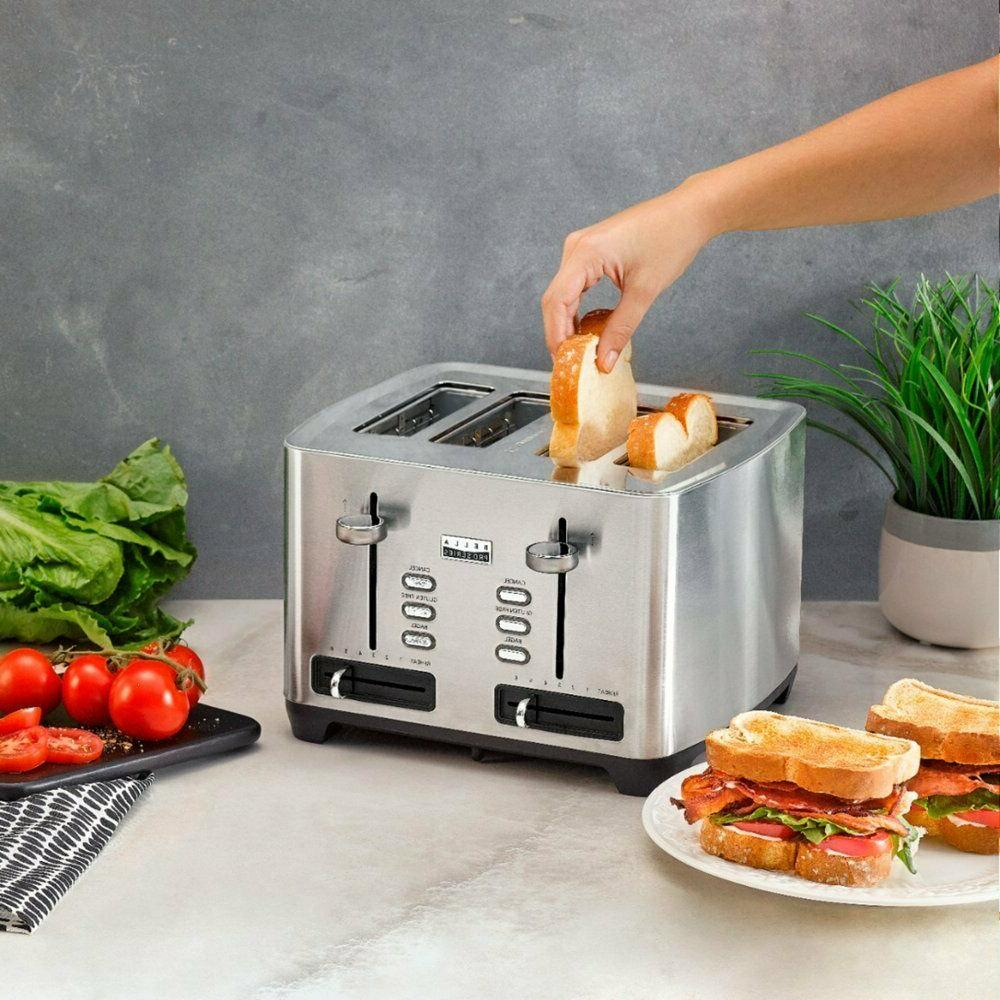 Bella - Pro 4-Slice Stainless Steel