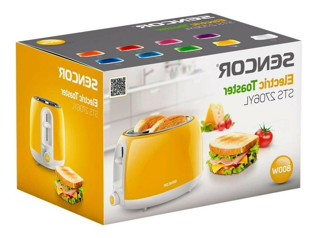 Sencor STS2706YL Toaster with Technology, Yellow