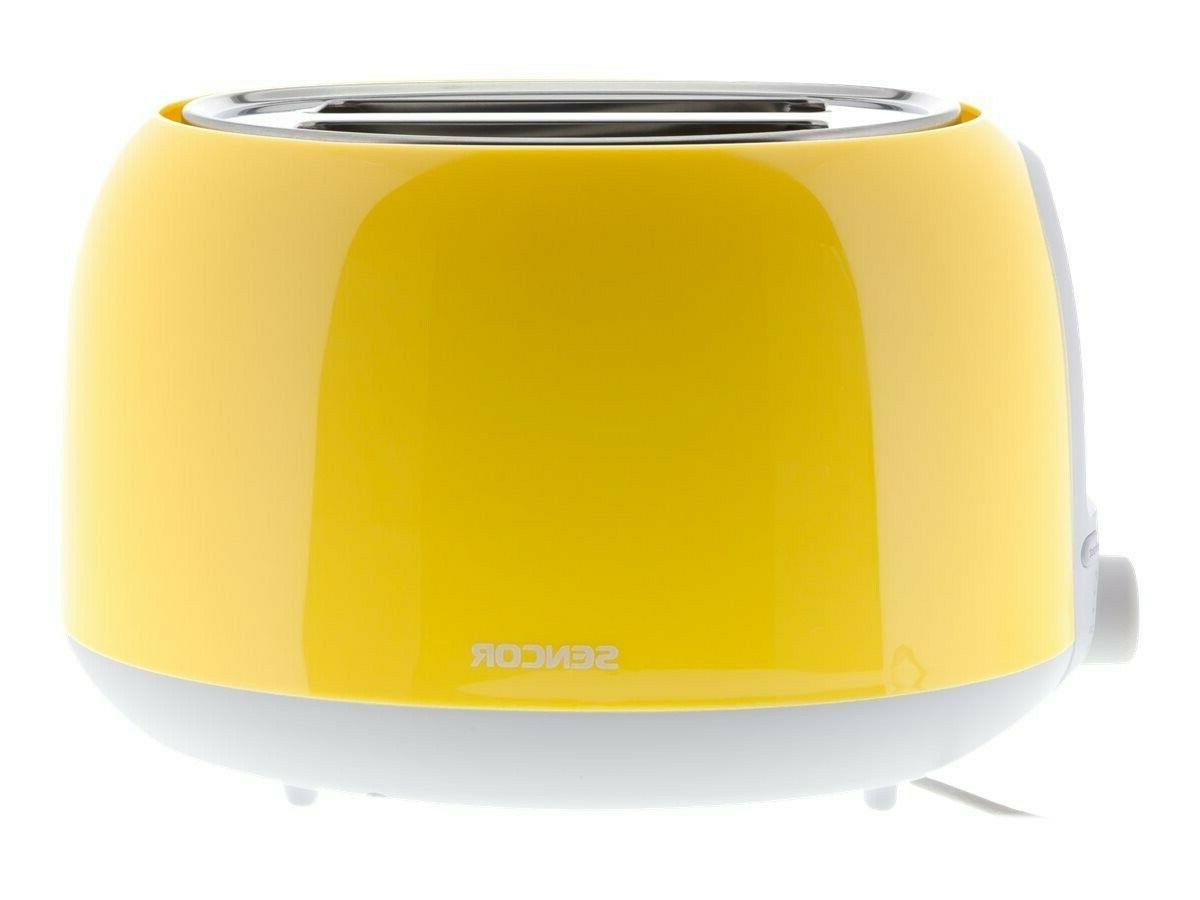 sencor sts2706yl 2 slot toaster with safe