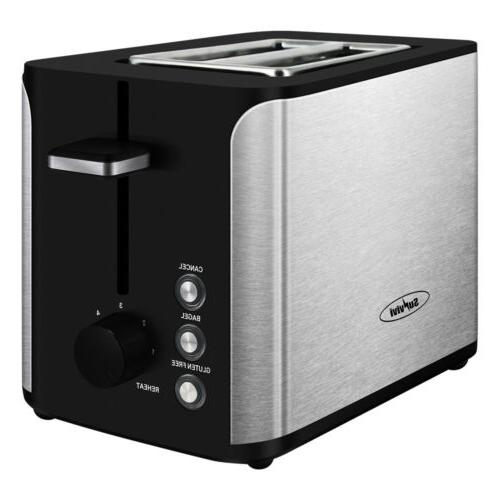 Toaster Stainless Steel Wide Toaster