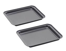 Nonstick Small Baking Sheet 2 Pack, SS&CC 8 Inch Carbon Stee