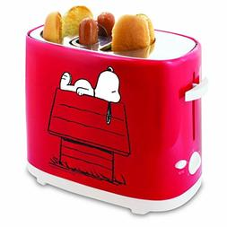 PEANUTS Snoopy Hot Dog And Bun Toaster Quick Easy Lunch Snac