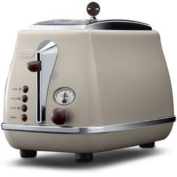 DeLonghi Pop-up toaster 「ICONA Vintage Collection」CTOV20