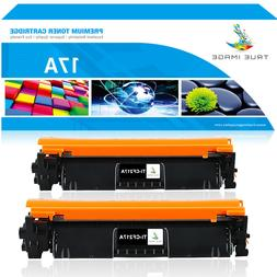 2PK CF217A 17A Toner Cartridge for HP LaserJet Pro M102a M10