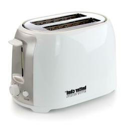 Better Chef Toaster 2 Slice Cool Touch Exterior Wide Slot Cl