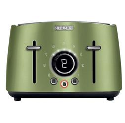 vintage 4 slot toaster with digital button