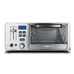 Waring WTO180CMR 1500W 4-Slice Toaster Oven with Built-In 2-
